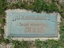 Sadie Hereford