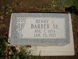 Henry John Barber