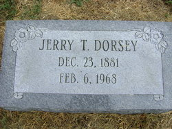 Jerry Thomas Dorsey