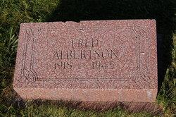 Fred Albertson