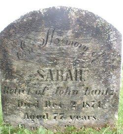 Sarah <i>Smeltzer</i> Lantz