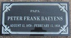 Peter Frank Baeyens