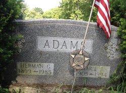 Marie J. <i>Kelly</i> Adams