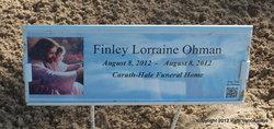 Finley Lorraine Ohman