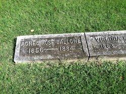 Agnes <i>Rose</i> Ballowe