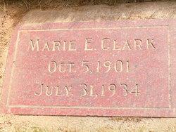 Marie E <i>Meadows</i> Clark