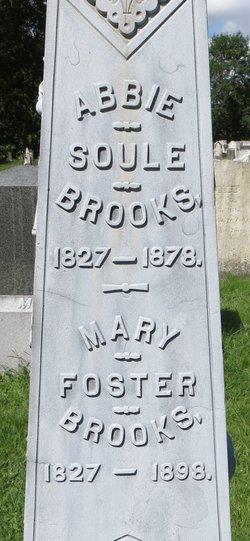 Mary <i>Foster</i> Brooks