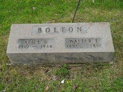 Alice Gladys <i>Wernli</i> Bolton