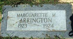 Marguarette M. Arrington