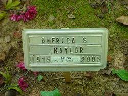 America S, Kaylor