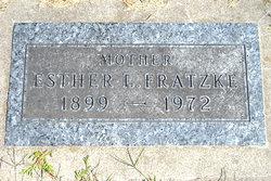 Esther Irene <i>Larson</i> Fratzke