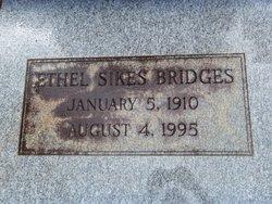 Ethel <i>Sikes</i> Bridges