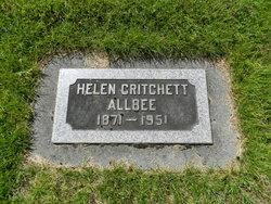 Helen Critchett Allbee