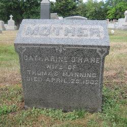 Catharine <i>O'Hare</i> Manning