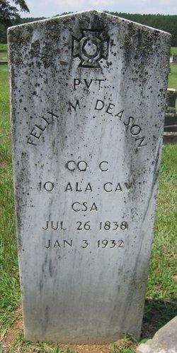 Pvt Felix M Deason