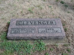 Hattie Naomi <i>McLallen</i> Clevenger