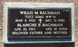 Blanche B Bachman