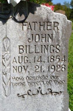 John Jordan J. J. Billings