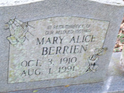 Mary Alice Berrien
