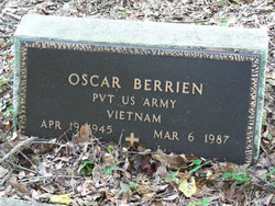Pvt Oscar Berrien