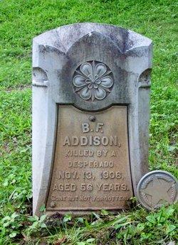 B. F. Addison