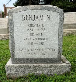 Mary <i>McConnell</i> Benjamin