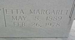 Etta Margaret <i>Smith</i> Harrison