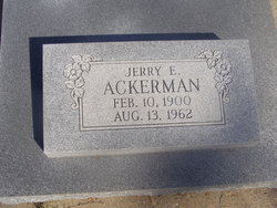 Jerry Eilert Ackerman