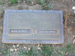 Dorothy Louise Toots <i>Gilliland</i> Bailey