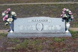 Junie F. Alexander
