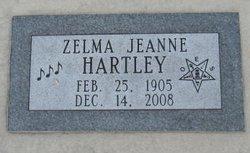 Zelma Jeanne Hartley