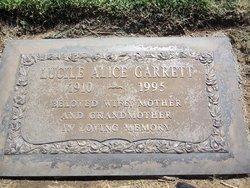 Lucile Alice <i>Horton</i> Garrett