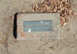 Mrs Holliday