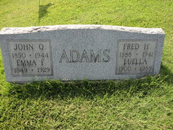 Emma F <i>Frazier</i> Adams