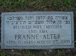 Franne <i>Levine</i> Alter