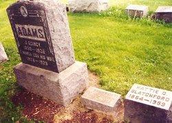 Frances Maria <i>Cox</i> Adams