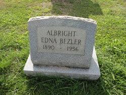 Edna <i>Bezler</i> Albright