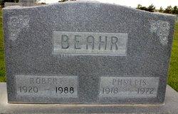 Robert E Beahr