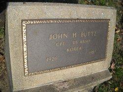 John H Buttz
