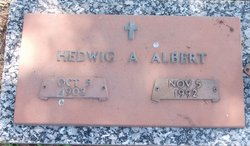 Hedwig A <i>Gerhardt</i> Albert