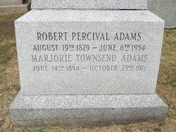 Robert Percival Adams