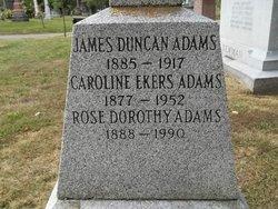 Caroline Ekers Adams
