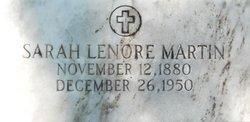 Sarah Lenore <i>Wilhelm</i> Martin