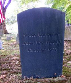 Mary <i>Clark</i> Gannett