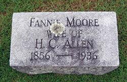 Fannie <i>Moore</i> Allen