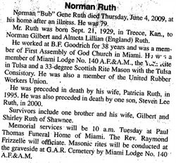 Norman Gene Ruth