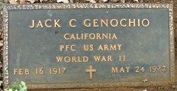PFC Jack C. Genochio