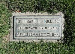Lieut Edward H Buckles