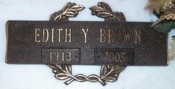 Edith <i>Young</i> Brown