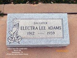 Electra Lee Adams